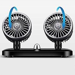 AKDSteel Ventilateur de Voiture 24 Volts refroidissant 12v Ventilateur Principal Double