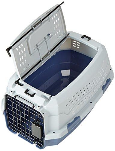 Zoom IMG-2 amazonbasics trasportino rigido per animali