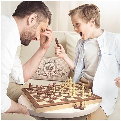 aGreatLife-Holz-Schachspiel-Universales-Standard-Holz-Schachbrettspielsatz-Handgefertigte-mit-15-Zoll-Brett-und-Mit-Magnetverschluss-Perfektes-Anfnger-Schachspiel-fr-Kinder