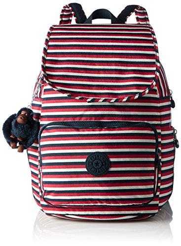 Imagen de kipling  cayenne,  mujer, multicolour sugar stripes , 27x37x19.5 cm w x h x l