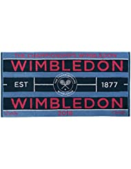Wimbledon Lady Tennis Towel 2018 von Christy 132 Years