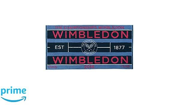 Wimbledon 2018 on Court Damen Tennis Handtuch von Christy Uk 132 Jahre Wimbledon Sammeln & Seltenes Tennis
