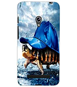 ASUS ZENFONE 5 TORTOISE Back Cover by PRINTSWAG