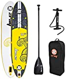 Zray X2 All Around gonfiabile Stand Up Paddle Board, 3 m, giallo