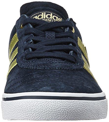 adidas Skateboarding Busenitz Vulc ADV 10 Year Anniversary, collegiate navy-metallic gold-halo blue white collegiate navy-metallic gold-halo blue white