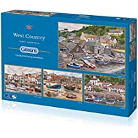 Gibsons The West Country Jigsaw Puzzle (4 x 500 pieces)