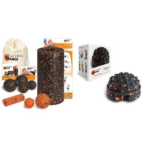 Blackroll Orange (Das Original) DIE Selbstmassagerolle - Komplett-Set STANDARD mit miniBAG Preisvergleich