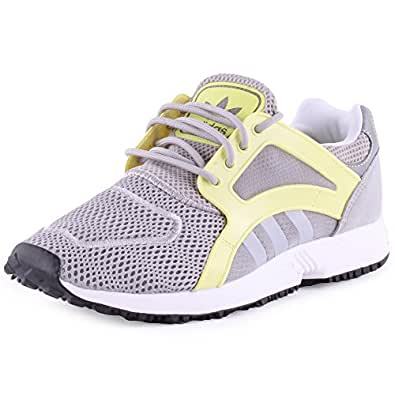 adidas Damen Sneaker RACER LITE mgh solid grey/ftwr white/blush yellow s15-st 41 1/3