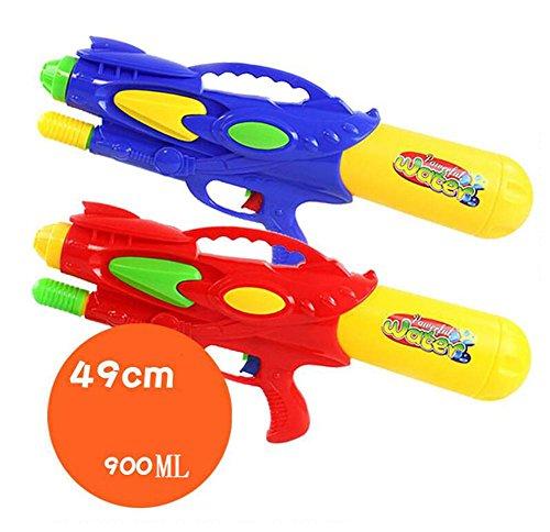 HJXJXJX Kinder Plastikmaterial Strand Spielzeug Wasser Spielzeug aufblasbare Wasserpistole (Spielzeug Elektronische Maschine Gun)