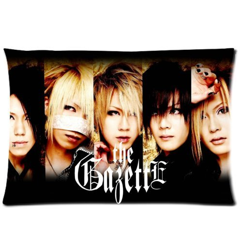 The Gazette Japan Rock Band Custom Pillowcase Cover Two Side Picture Size 16x24 - Cover Phone Japan