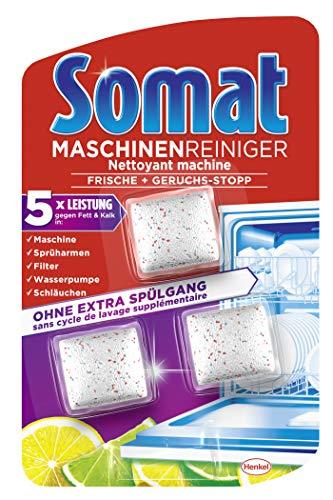 Somat Maschinen Reiniger gegen Fett und Kalk, 6er Pack (6 x 3 Stück)