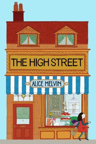 Melvin the High Street /Anglais (Lift the Flap) por Melvin