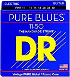 from DR DR Pure Blues Heavy Guitar Strings Model PHR-11