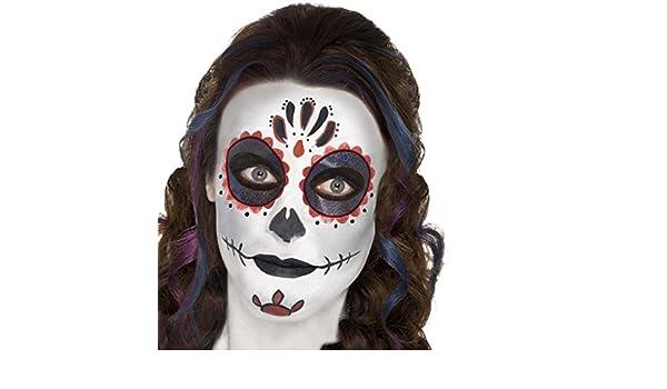 Net Toys Schminke Mexikanische Totenmaske Sugar Skull Makeup Set