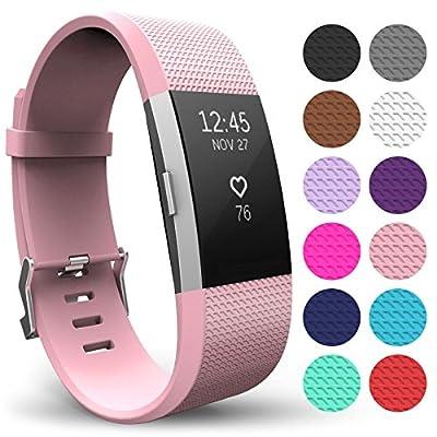 FitBit Charge 2 Armband, Yousave Accessories Ersatz Armband – Wristband erhältlich in 12 Farben von Yousave Accessories