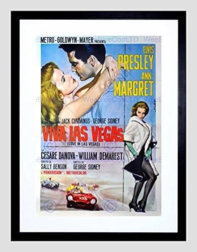 advert-movie-film-viva-las-vegas-elvis-presley-mgm-usa-framed-art-print-b12x5056