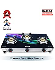 Inalsa Glitz  Stainless Steel Glass Top