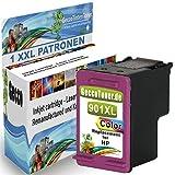 1x Tintenpatrone Als Ersatz für HP 901xl Color Druckerpatronen für HP Officejet 4500 J4580 J4680 J4524 J4525 J4535 J4540 J4550 J4585 J4500 G510a G510g/n