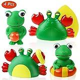 Joylink Badespielzeug Geschenkset, Spielzeug für die Badewanne, hochwertiges Kleinkindspielzeug
