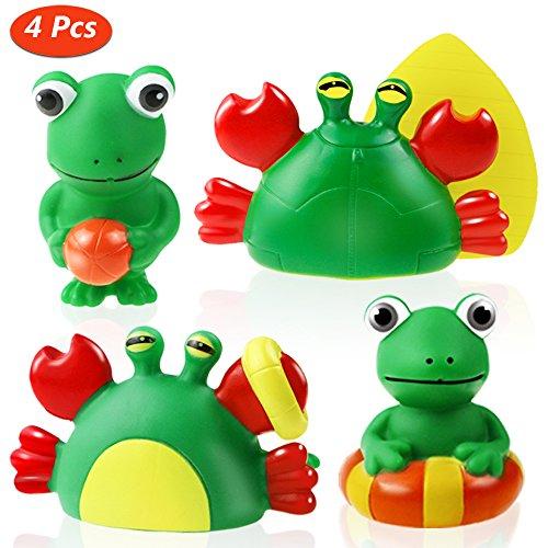 Estela Juguete del Baño, 4 Piezas Juguetes De Baño Bebe Patrón Animal Juguetes Para Niñas Juguetes Niños Para Bañera