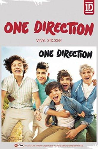 1art1 72153 One Direction - Album Poster-Sticker Tattoo Aufkleber 15 x 10 cm