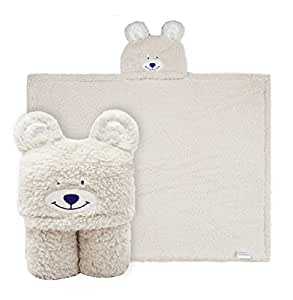Coperta di asciugamano con cappuccio per bambini, Asciugamano per animali in peluche Sherpa Fleece, misura 3-10 anni, i migliori regali per ragazzi e ragazze