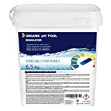 Organic increaser pH+ Plus, 6.5kg for swimming pool, improves water quality, beneficial for health. Developed in UK.