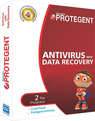Protegent Antivirus with Data Recovery Software 10 PC/ 1 Yr....