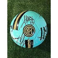 F.C. Inter Pallone Nike Verde Acqua Autografato 2019/2020 Firmata Firme Giocatori