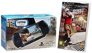 Sony PSP E1004 Console (Free Game: Street Cricket II - Black)