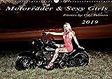 Motorräder und Sexy Girls 2019 (Wandkalender 2019 DIN A3 quer): Stilvoll gestaltete Bilder mit schweren Maschinen und heiße Girls (Monatskalender, 14 Seiten ) (CALVENDO Menschen)
