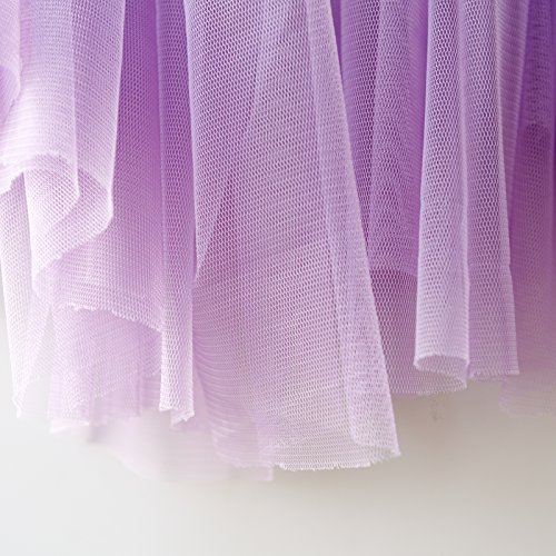 Lila Weicher Tüll Stoff 150 cm breit, Meterware,