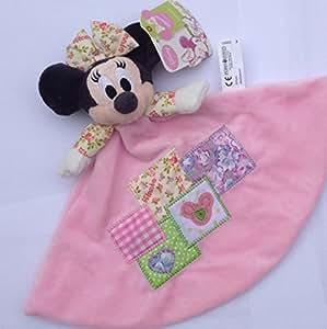 Disney - Doudou plat Minnie patchwork