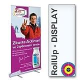 RollUp 85x200cm einseitig inkl. Digitaldruck