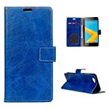 Casefirst HTC One A9s Case, HTC One A9s Wallet Case,Carry Case, Premium Slim Leather Wallet Back Case with Credit Card ID Hol