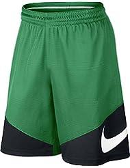 Nike M Nk Hbr Pantalón Corto de Baloncesto, Hombre, Verde (Stadium Green/Black/Black/White), M