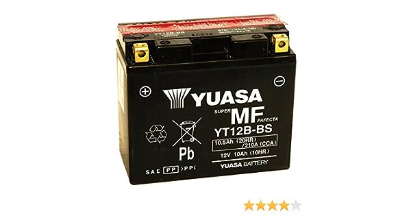 anno di costruzione 2013 Bosch YT12B-BS Batteria per Yamaha XJ6 600 FA Diversion ABS