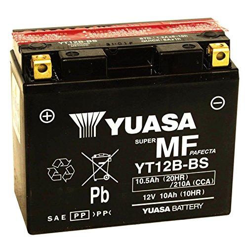 BATTERIA YUASA YT12B-BS 12 V 10 AH PER YAMAHA TDM 850 1996/2001