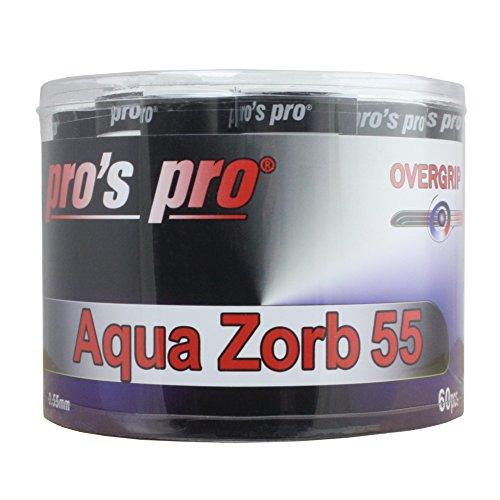 Pro 's Pro Aqua Zorbing 55Griffband Tennis Badminton Squash Schläger Grip-Box von 60 Dual-woofer-box