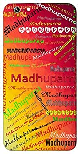 Madhuparna (Tulsi leaf) Name & Sign Printed All over customize & Personalized!! Protective back cover for your Smart Phone : Samsung Galaxy E-7