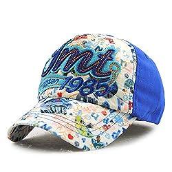 qqyz2323 Fashion Kinder Baseballmütze Snapback Bone Baumwolle Mütze für Kinder 5-7 Jahre alt Farbe Nr. 5