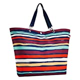 Reisenthel Shopper XL Sporttasche, 67 cm, Artist Stripes