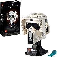 LEGO75305StarWarsScoutTrooperHelmBausetfürErwachsene,Deko,Geschenkidee,ModellzumBauenundAusste