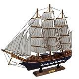 Sonia Originelli fertiges Modellschiff Segelschiff Boot Klein DA035 (Modell 1)