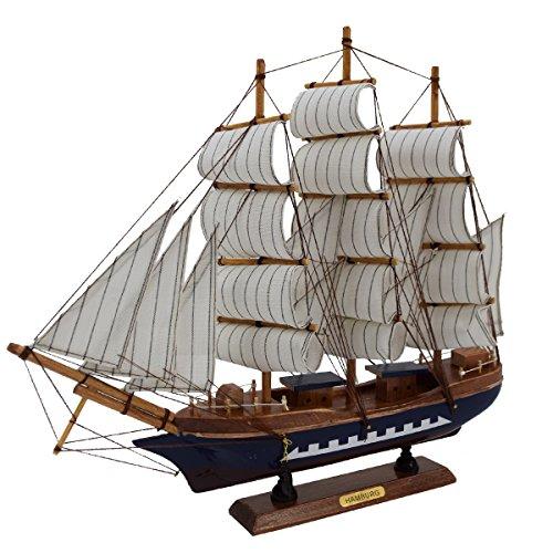 Sonia Originelli fertiges Modellschiff Segelboot Segelschiff Dekoration DA036 (Modell 3)
