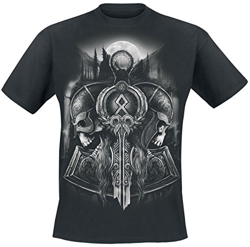 Toxic Angel Guardian Of Midgard T-Shirt nero 4XL
