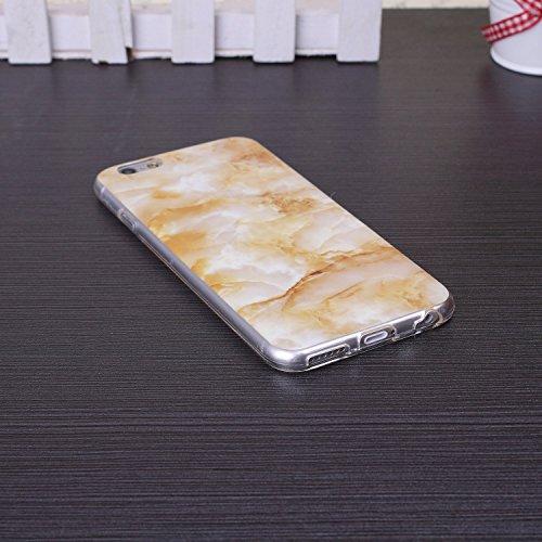 ekinhui iPhone 5s 5Case wird, Patr ¨ ® n M ¨ ¢ Marmor IMD H ¨ ªbrido glänzend Weich C ¨ ¢ Scara TPU Backcover Abdeckung für iPhone 5S 5SE B2