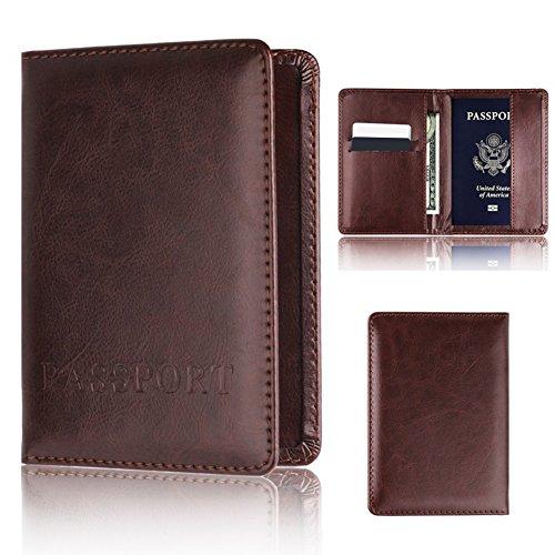 Wallet-bild-inhaber (AxssjS Leichte Travel Business Passport Organizer Inhaber Ticket Card Protector Cover Wallet Grün)