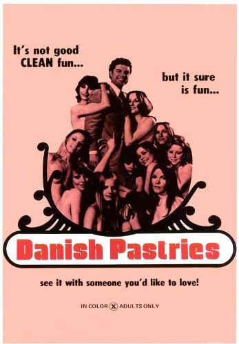 Danish Pastries Plakat Movie Poster (27 x 40 Inches - 69cm x 102cm) (1976)