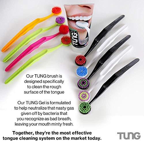 Tung Gel Fresh Mint Zungengel 85g Tube hilft gegen Mundgeruch - 4